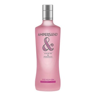 Gin Ampersand Strawberry Flavour Pink
