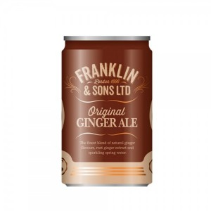 Original Ginger Ale Franklin & Sons lattina
