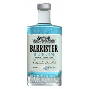 Blue Gin Barrister 70 cl