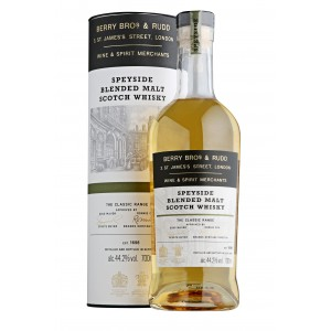 Scotch Whisky Speyside Blended Malt Berry Bross e Rudd