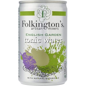 Indian Tonic Water Folkington's English Garden