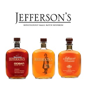 Set Whiskey Jefferson's Bourbon