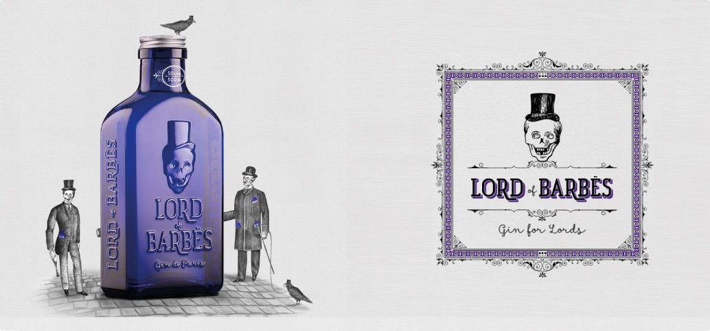 Gin Lord Of Barbes - 0,5 Lt